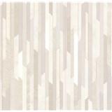 Vliesové tapety na stenu Spotlight 2 pásky sivé/strieborné/béžové