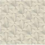 Vliesové tapety na stenu IMPOL Spotlight 3 ihlany 3D sivé s metalickými odleskami