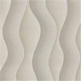 Vliesové tapety na stenu Studio Line - Graceful vlnovky svetlo hnedé