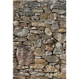 Vliesové fototapety kamenná stena rozmer 124 cm x 184 cm