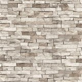 Tapety na stenu papierové - kamenný obklad svetlo hnedý
