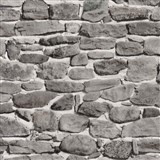 Tapety papierové - ukladaný kameň šedo-hnedý