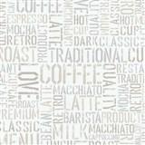 Papierové tapety na stenu Tribute - coffe krémové