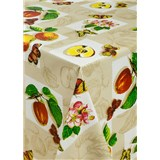 Obrusy návin 20 m x 140 cm jablká a motýle
