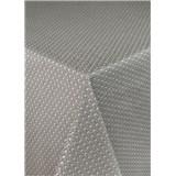 Obrusy návin 20 m x 140 cm pletený vzor hnedý s textilnou štruktúrou