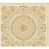 Luxusné vliesové  tapety na stenu Versace IV barokové ornamenty zlato-krémové