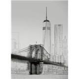 Vliesové fototapety umelecká ilustrácia - New York rozmer 184 x 254 cm