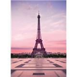 Fototapety Eiffelova veža pri úsvite rozmer 184 x 254 cm