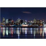 Vliesové fototapety nočný Montreal rozmer 368 x 254 cm