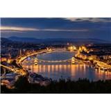 Vliesové fototapety Budapešť rozmer 368 cm x 254 cm