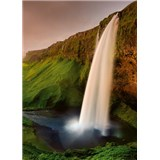 Vliesové fototapety Islandský vodopád rozmer 184 cm x 254 cm