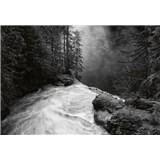 Vliesové fototapety vodopád rozmer 368 x 254 cm