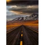 Vliesové fototapety cesta v Atacame rozmer 184 x 254 cm