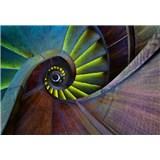 Vliesové fototapety točité schodisko rozmer 368 x 254 cm