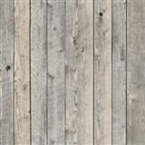 Vliesové tapety na stenu drevený obklad tmavo sivý