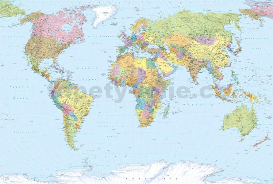 Fototapeta Mapa Sveta Orbis Terrarum Dovido Sk