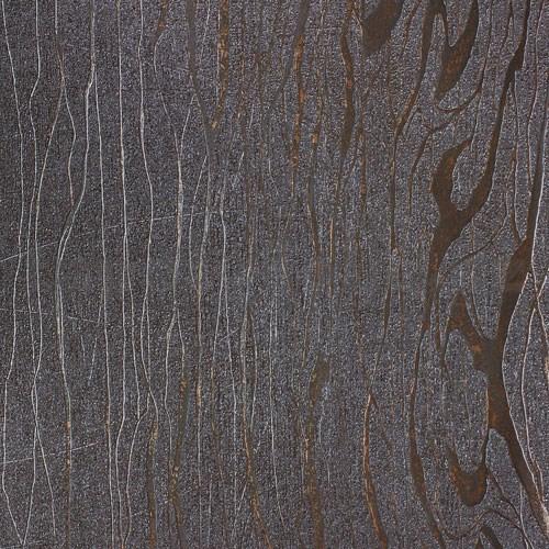 22f11894ba525 Vliesové tapety na stenu Colani Visions drevo moderné hnedé s medenými  kontúrami