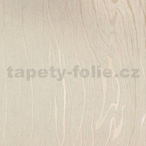 b08b47eeb5e7d Vliesové tapety na stenu Colani Visions drevo moderné béžové s perleťovými  kontúrami