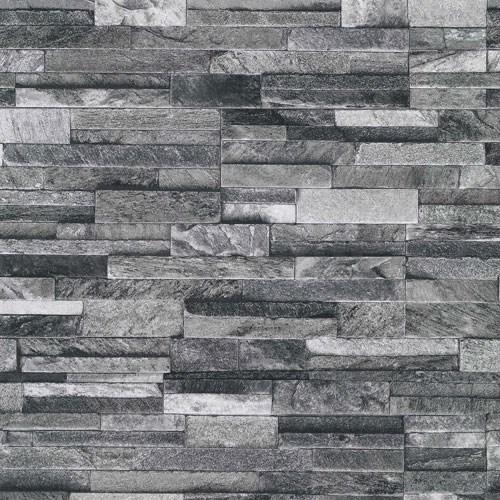 Vliesov tapety na stenu origin kame pieskovec ierno for Klebefolie stein muster