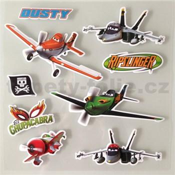 3D samolepky na stenu detské lietadlo Dusty
