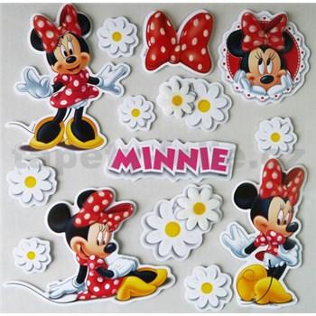 3D samolepky na stenu detské Minnie