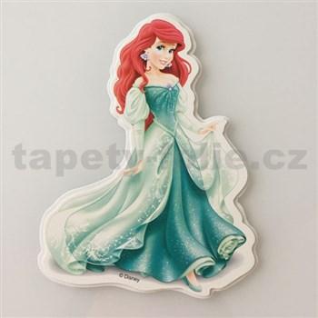 3D dekorácie na stenu princezná Ariel