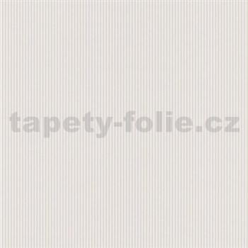 Papierové tapety na stenu Dieter Bohlen 4 Kidz prúžky svetlo hnedé