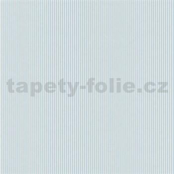 Papierové tapety na stenu Dieter Bohlen 4 Kidz prúžky tyrkysové