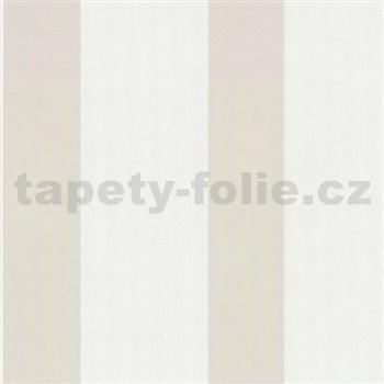 Vliesové tapety Belcanto - pruhy svetlo hnedé
