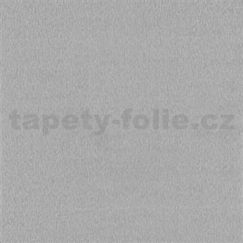 Vliesové tapety Belcanto - štruktúrovaná šedo-strieborná s leskom