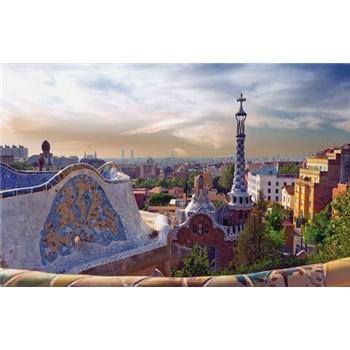 Luxusné vliesové fototapety Barcelona - farebné, rozmer 418,5 x 270cm
