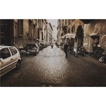 Luxusné vliesové fototapety Rím - sépia, rozmer 418,5 x 270cm