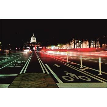 Luxusné vliesové fototapety Washington dc - farebné, rozmer 418,5 x 270cm