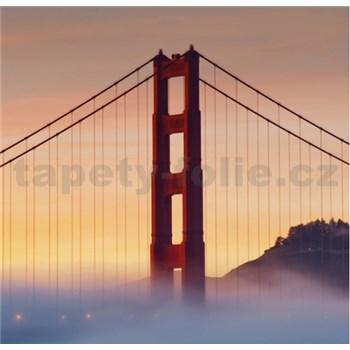 Luxusné vliesové fototapety San Francisco - farebné, rozmer 279 x 270cm