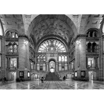 Luxusné vliesové fototapety Antwerp - farebné, rozmer 372 x 270cm