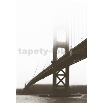 Luxusné vliesové fototapety San Francisco - farebné, rozmer 186 x 270cm