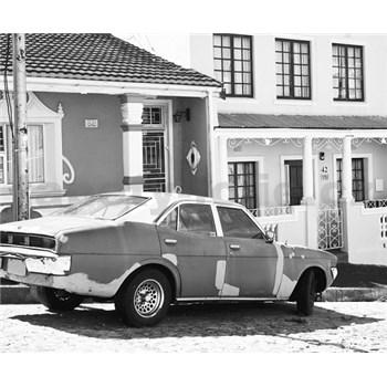 Luxusné vliesové fototapety Cape Town - čiernobiele, rozmer 325,5 x 270cm