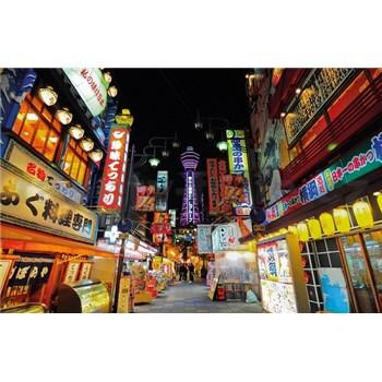 Luxusné vliesové fototapety Tokyo - farebné, rozmer 418,5 x 270cm
