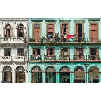 Luxusné vliesové fototapety Havana - farebné, rozmer 418,5 cm x 270 cm