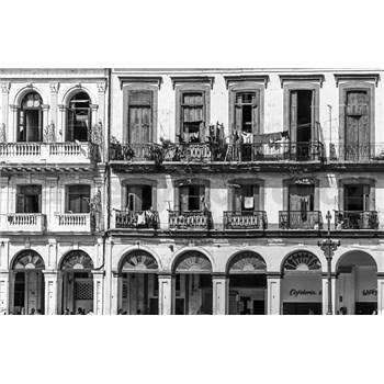 Luxusné vliesové fototapety Havana - čiernobiele, rozmer 418,5 cm x 270 cm