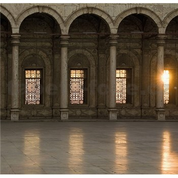 Luxusné vliesové fototapety Cairo - farebné, rozmer 279 x 270cm