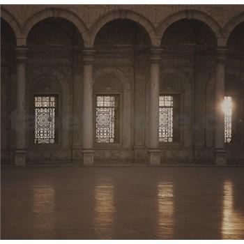 Luxusné vliesové fototapety Cairo - sépia, rozmer 279 x 270cm