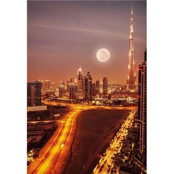 Luxusné vliesové fototapety Dubai - farebné, rozmer 186 x 270cm