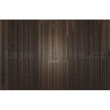 Luxusné vliesové fototapety Dubai - sépia, rozmer 418,5 cm x 270 cm