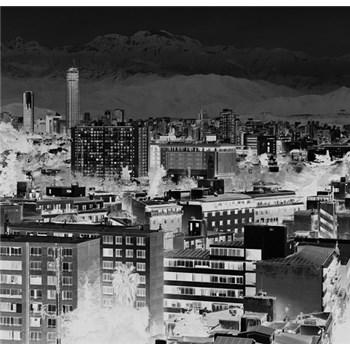 Luxusné vliesové fototapety Santiago - čiernobiele, rozmer 418,5 x 270cm