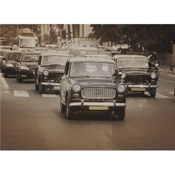 Luxusné vliesové fototapety Mumbai - sépia, rozmer 372 x 270cm