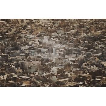 Luxusné vliesové fototapety Rajasthan - sépia, rozmer 418,5 x 270cm