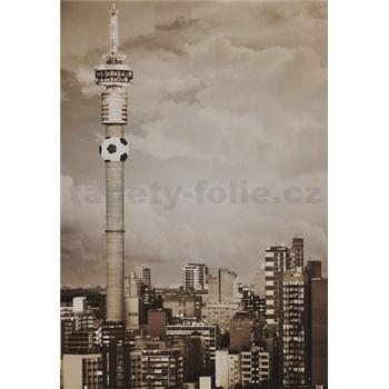 Luxusné vliesové fototapety Johannesburg - sépia, rozmer 186 x 270cm