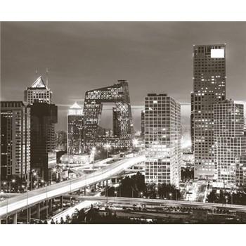 Luxusné vliesové fototapety Beijing- farebné, rozmer 325,5 x 270cm