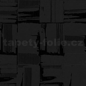 Tapety na stenu Dieter Bohlen - moderný štuka s vysokým leskom - čierny